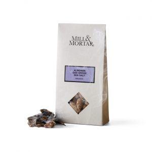 Almonds with oak smoke and sea salt