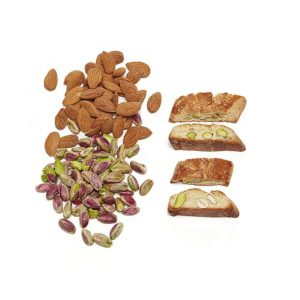 Biscuits with Pistachios & Almonds