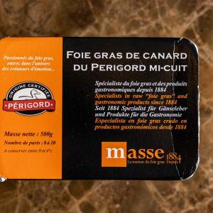 Foie Gras de Canard du Perigord IGP Mi Cuit