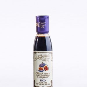 Glaze With Balsamic Vinegar Of Modena And Fig