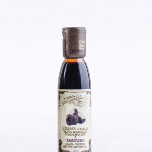Glaze With Balsamic Vinegar Of Modena And Truffle