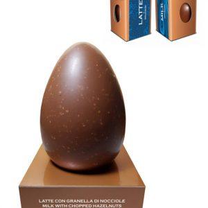 Milk Chocolate Egg with Hazelnut
