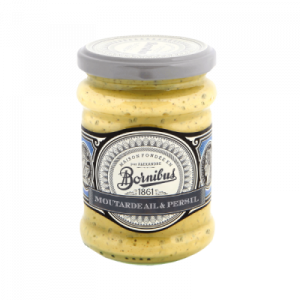 Mustard with galric & parsley