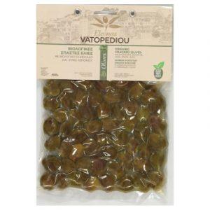 Organic Cracked Olives