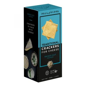 Smoked Salt Crackers