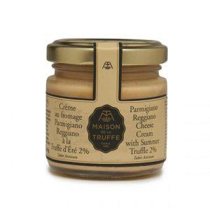 Parmigiano Reggiano Cheese Cream with Summer Truffle 2%