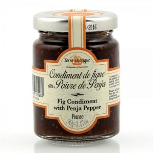 Fig chutney with Penja pepper