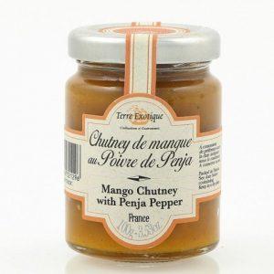 Mango chutney with Penja pepper
