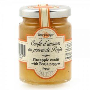 Pineapple chutney with Penja pepper