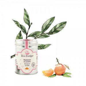 Organic mandarin powder