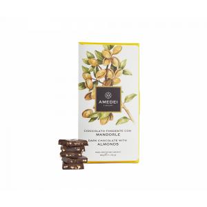 Extra Dark Chocolate 63% with Avola Almonds