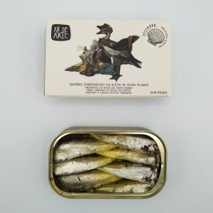 Small Sardines in Olive Oil (spicy)