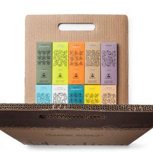 Walking Chocolate Gift Box