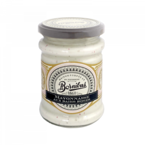 Mayonnaise with pink peppercorns