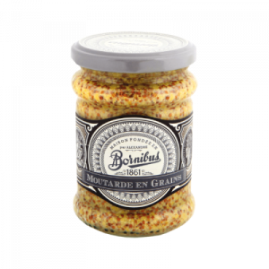 Mustard with grains