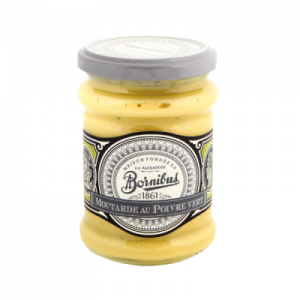 Mustard with green pepper