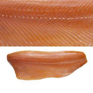Natural smoked salmon fillet