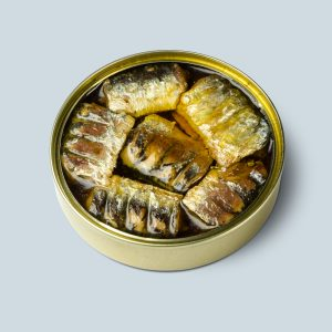 Chargrilled sardines loins