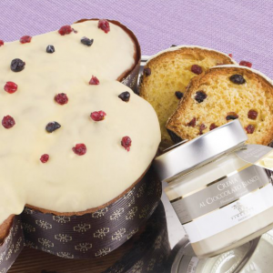 Artisan Colomba Ensemble with wild berries and white chocolate