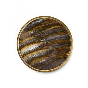 Smoked mackerel in olive oil
