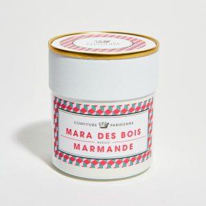 Mara des bois Strawberry, Marmande Tomato and Basil