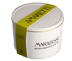 Almond Amaretti in tin box