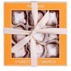Orange Amaretti Box