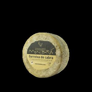 Garrotxa goat cheese mini
