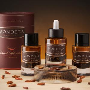 Mondega Gourmet Natural Spicy Sauce – Triple Pack