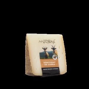 Garrotxa goat cheese portion