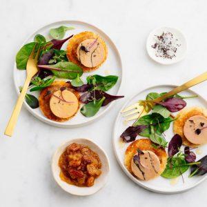 Mi – Cuit Duck Foie Gras with Truffle