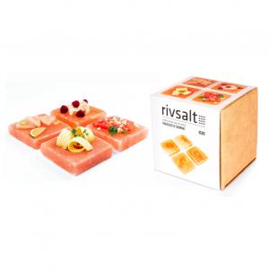 020 Freeze & Serve Himalayan Salt plates