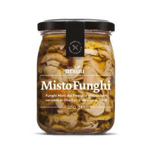 Mixed with Fresh Mushrooms
