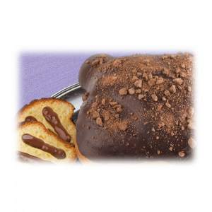 Artisan Colomba  Le Chic with 70% extra dark chocolate and filled with chocolate of Modica cream
