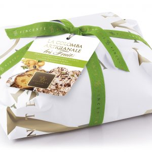 Artisan Colomba  Les Fruits, with pineapple, apricot and Sicilian pistachio.
