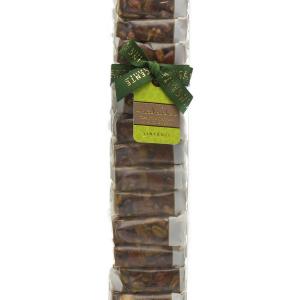 Crunchy nougat pieces with Sicilian pistachio