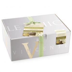 Artisan Colomba  Le Chic  with extra fine white chocolate and chopped Sicilian pistachio