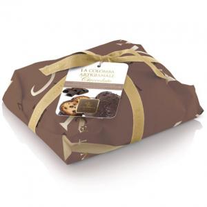 Artisan Colomba  with 70% extra dark chocolate